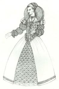 Sketch - Hamlet - Gertrude