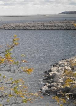 112 - a shore of rocks