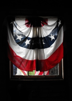26 - a country draped