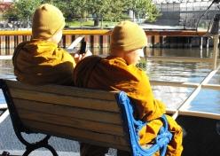 55 - bodhisattvas on a boat
