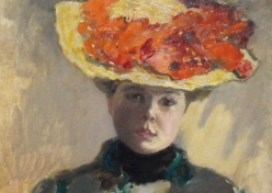 94 - lady in the flowered hat